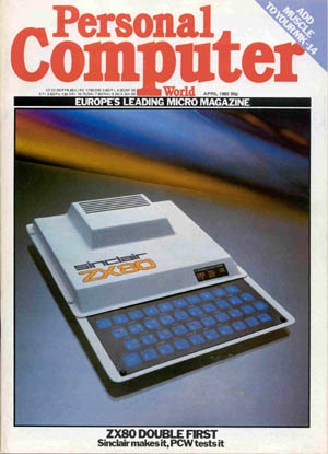 PCW Issue Sinclair ZX80